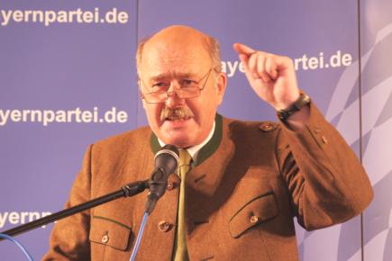 Bayernpartei geht selbstbewusst in das Wahlkampf-Finale (Landtagswahl 2018)